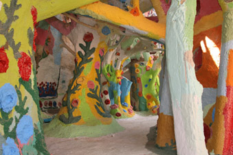 Inside Salvation Mountain Museum